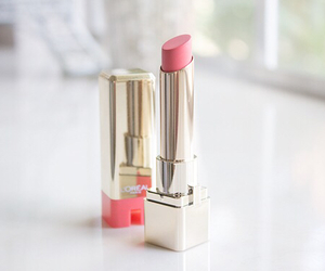 loreal, lipstick, and pink image