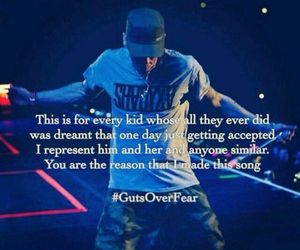 eminem and guts over fear image