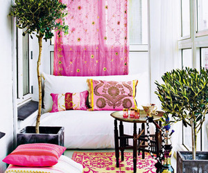 pink, decor, and interior image