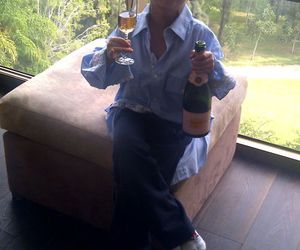 champagne, guy, and cute image