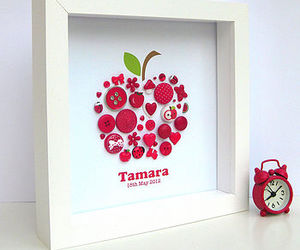 apples, art, and scrapbooking paper image