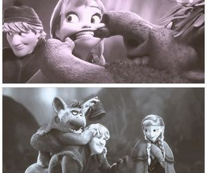 frozen and anna and kristoff image