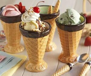 ice cream, food, and yummy image