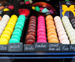 macaroons, food, and macarons image