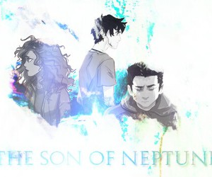 percy jackson, the son of neptune, and hazel levesque image