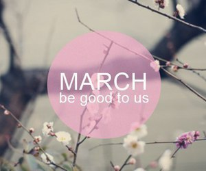march, spring, and good image