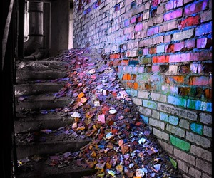 wall, colors, and colorful image