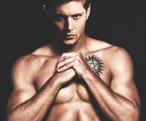 blonde hair, Jensen Ackles, and dean winchester image
