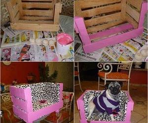diy, dog, and pink image