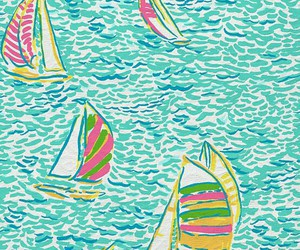 background, lilly pulitzer, and summer image
