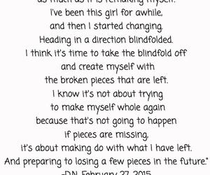 broken, creating, and heartbreak image
