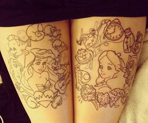 tattoo and disney image