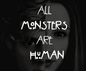 american horror story, monsters, and evan peters image
