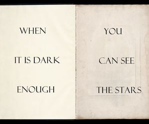 text, quote, and stars image