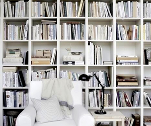 book, white, and home image