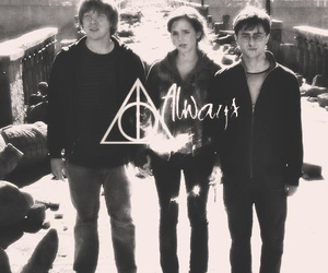 harry potter, always, and ron weasley image