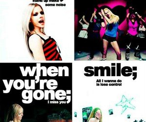 Avril, girlfriend, and smile image
