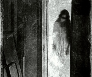 creepy, dark, and ghost image