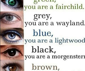 eyes, nephilim, and the mortal instruments image