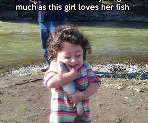 fish, love, and funny image