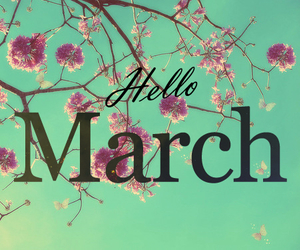 happy, march, and new mounth image