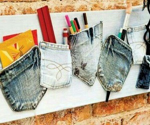 diy, jeans, and cool image