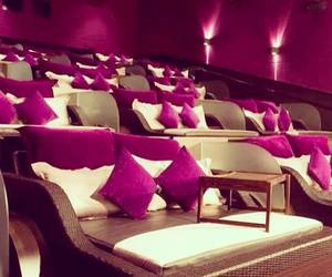 cinema, pink, and luxury image