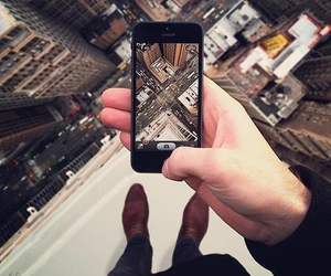 city, iphone, and photography image