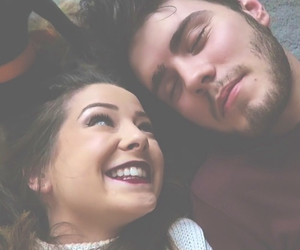 zoella, zalfie, and couple image