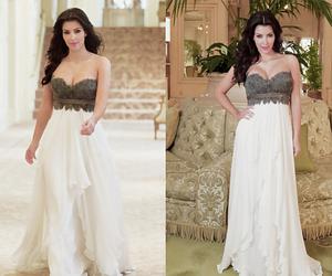 kim kardashian, fashion, and dress image