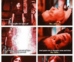 doctor who, matt smith, and clara oswald image