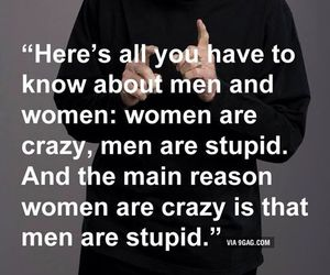 woman, crazy, and men image