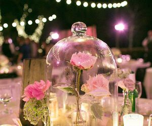 beauty and the beast, wedding ideas, and decoration image