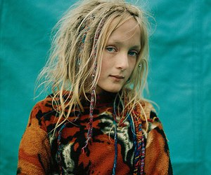 blonde, gypsy, and dreads image