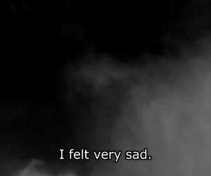 sad, dark, and depressed image
