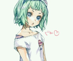gumi, anime girl, and vocaloid image