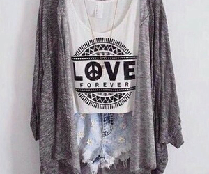 love, fashion, and outfit image