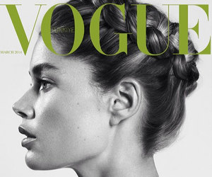 vogue, Doutzen Kroes, and model image