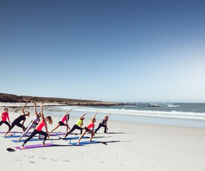 beach and workout image