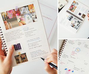 journal, stationary, and planner image