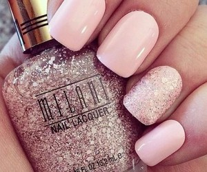 glitter, love it, and nails image