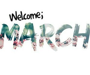 march, welcome, and spring image
