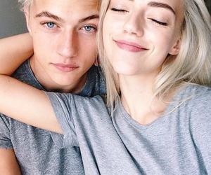 couple, boy, and model image