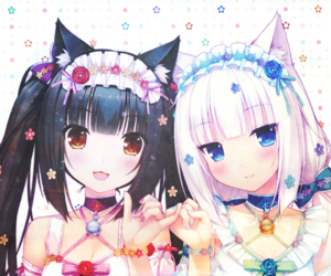 anime, neko, and kawaii image