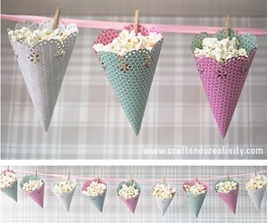 diy, party, and popcorn image