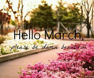 march, beautiful, and spring image