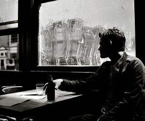 alone, calmness, and men image