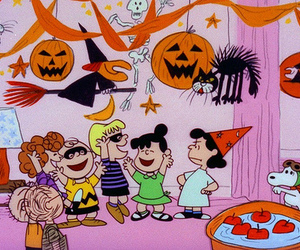 charlie brown and Halloween image