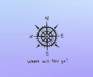 tumblr, wallpaper, and compass image