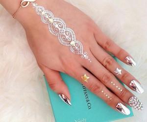 gold, nail, and silver image